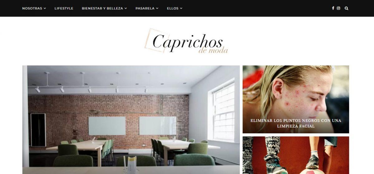 Caprichosdemoda.com - Web Ardilla - SeoDeseo
