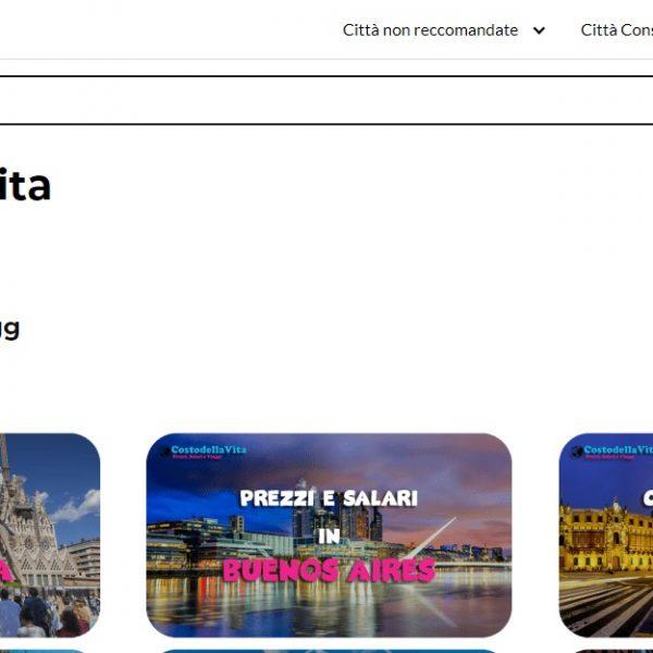 Costo de vida Italia - Web Leopardo - SeoDeseo