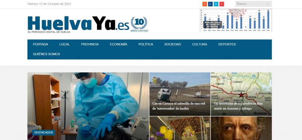 HuelvaYa - Novedades Octubre – Diciembre 2021 - SeoDeseo