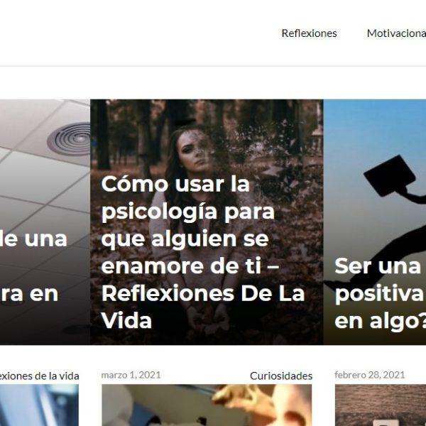 Reflexiones de vida - Web Leopardo - SeoDeseo