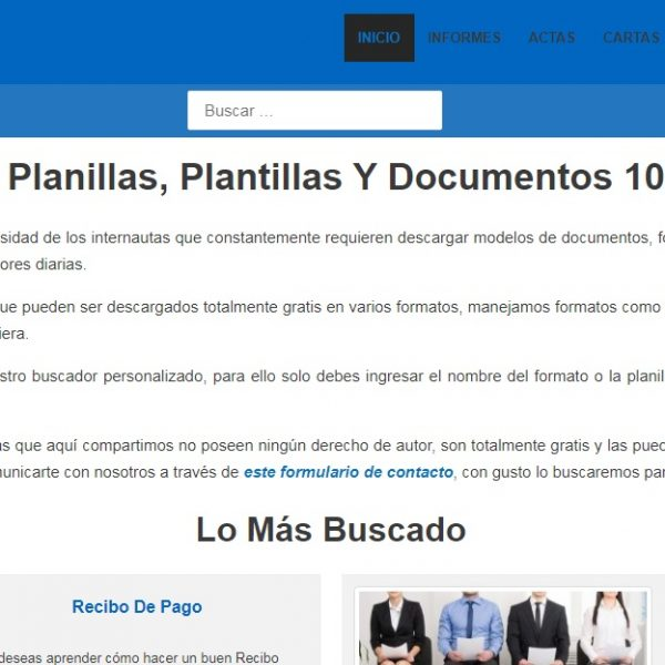 formatosyplanillas.com - Web Leopardo - SeoDeseo