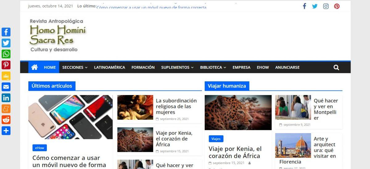 homohominisacrares.net - Web Leopardo - SeoDeseo